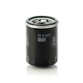 W 610/6 Ölfilter MANN-FILTER Test