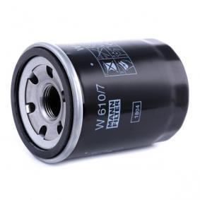 W6107 Ölfilter MANN-FILTER W 610/7 - Große Auswahl - stark reduziert