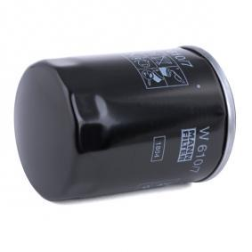 W 610/7 Ölfilter MANN-FILTER - Markenprodukte billig