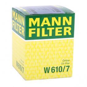 W610/7 Ölfilter MANN-FILTER Erfahrung