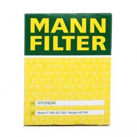 W 610/7 Ölfilter MANN-FILTER in Original Qualität