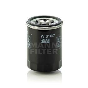 W 610/7 Ölfilter MANN-FILTER Test