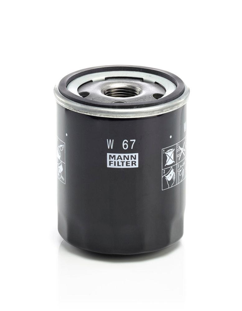 W67 Filter MANN-FILTER Erfahrung