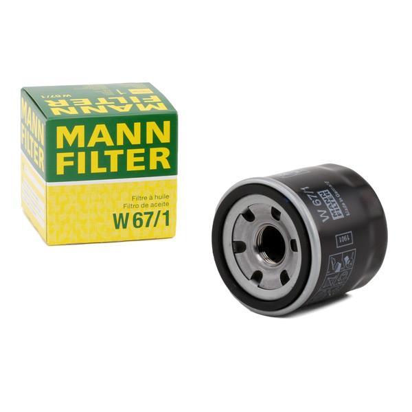 MANN-FILTER | Ölfilter W 67/1