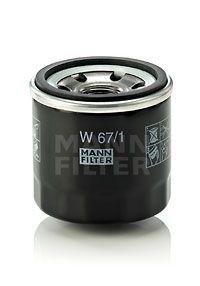 MANN-FILTER | Oil Filter W 67/1