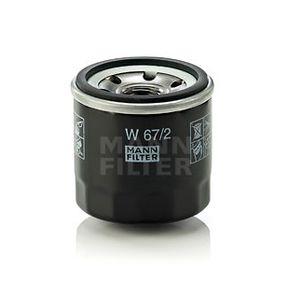 W67/2 Ölfilter MANN-FILTER Erfahrung