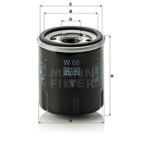 W68 Ölfilter MANN-FILTER Erfahrung