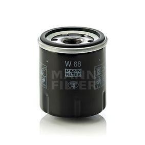 W68 Oljefilter MANN-FILTER - Upplev rabatterade priser
