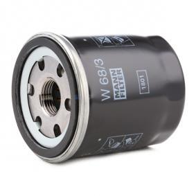 W683 Motorölfilter MANN-FILTER W 68/3 - Große Auswahl - stark reduziert