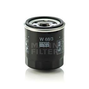 W 68/3 Ölfilter MANN-FILTER Test