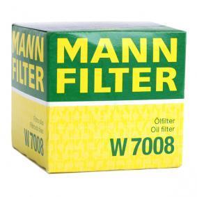 W7008 Ölfilter MANN-FILTER Erfahrung