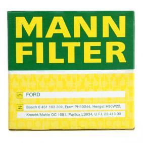 W 7008 Ölfilter MANN-FILTER in Original Qualität