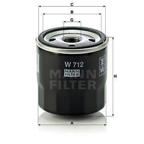 W712 Ölfilter MANN-FILTER Erfahrung