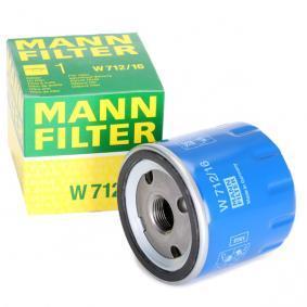 W71216 Filtro olio MANN-FILTER W 712/16 - Prezzo ridotto