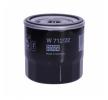 Olejový filter W 712/22 Fiat Punto 199 rok 2013 — využite skvelú ponuku hneď!