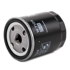 W7124 Ölfilter MANN-FILTER W 712/4 - Große Auswahl - stark reduziert