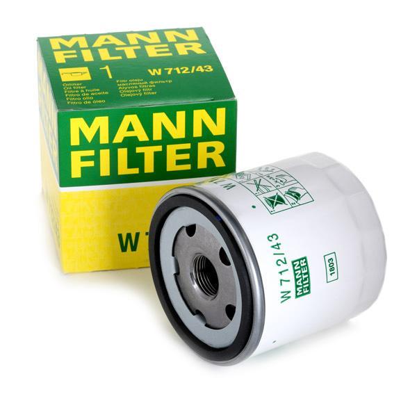 MANN-FILTER   Ölfilter W 712/43