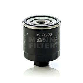 W 712/52 Oliefilter MANN-FILTER Test