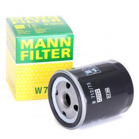 W71273 Ölfilter MANN-FILTER W 712/73 - Große Auswahl - stark reduziert
