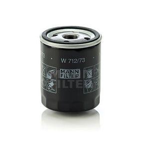 W 712/73 Ölfilter MANN-FILTER - Markenprodukte billig