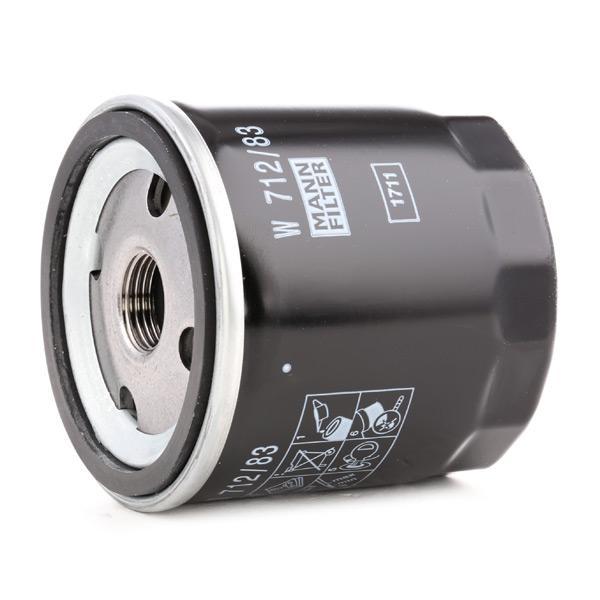W 712/83 Filter MANN-FILTER - Markenprodukte billig