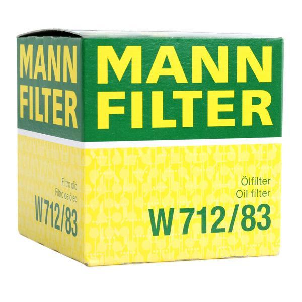 W 712/83 Motorölfilter MANN-FILTER in Original Qualität