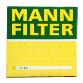 W 712/83 Alyvos filtras MANN-FILTER originalios kokybiškos