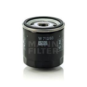 W 712/83 Ölfilter MANN-FILTER Test
