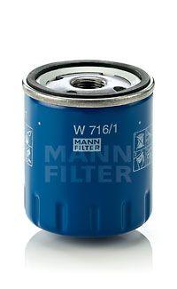 W7161 Filtros de aceite MANN-FILTER W 716/1 - Gran selección — precio rebajado