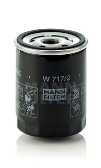 MANN-FILTER: Original Ölfilter W 717/2 (Innendurchmesser 2: 62mm, Innendurchmesser 2: 62mm, Ø: 76mm, Außendurchmesser 2: 71mm, Höhe: 100mm)
