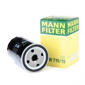 Eļļas filtrs W 719/15 par BMW Z1 ar atlaidi — pērc tagad!