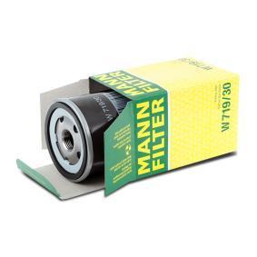 W719/30 Filter MANN-FILTER Erfahrung