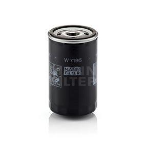 W 719/5 Eļļas filtrs MANN-FILTER - Lēti zīmolu produkti