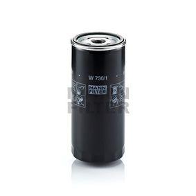 W 730/1 Маслен филтър MANN-FILTER - на по-ниски цени