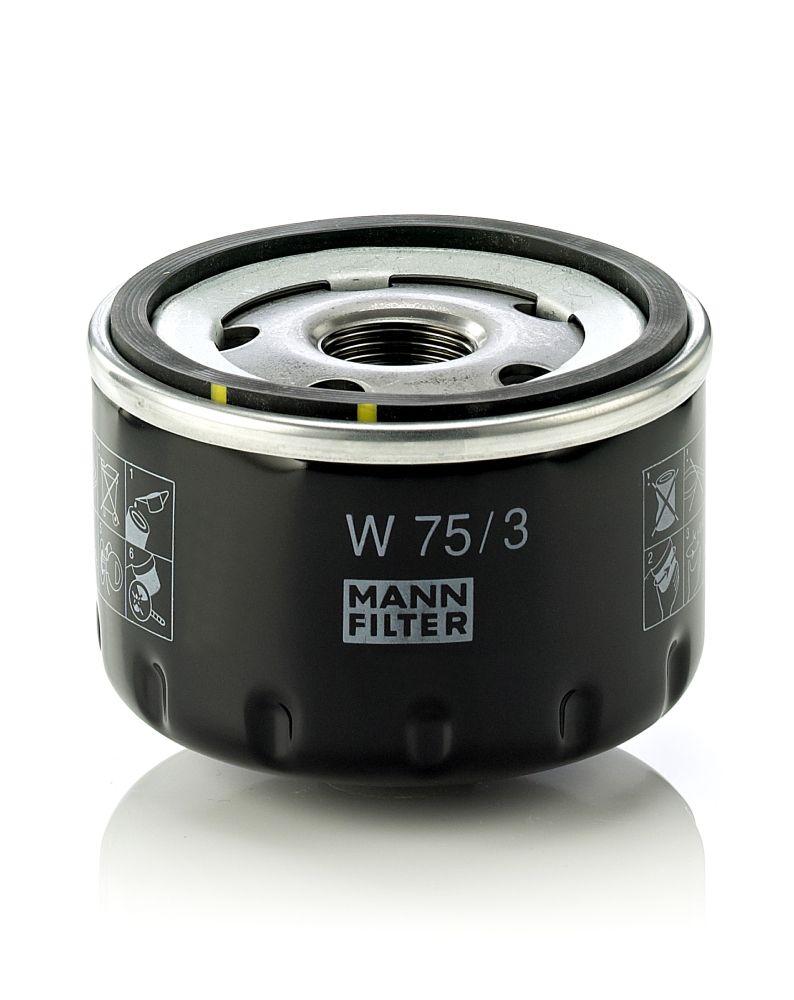 W 75/3 Motorölfilter MANN-FILTER in Original Qualität