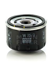 W 75/3 Filtre à huile MANN-FILTER originales de qualité