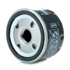 W 75/3 Alyvos filtras MANN-FILTER - Pigus kokybiški produktai