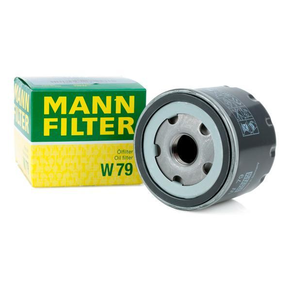 W79 Motorölfilter MANN-FILTER W 79 - Große Auswahl - stark reduziert