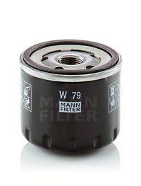 W 79 Filtro olio MANN-FILTER qualità originale