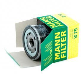 W79 Маслен филтър MANN-FILTER - Голям избор — голямо намалание