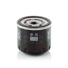 W 79 Маслен филтър MANN-FILTER в оригиналното качество
