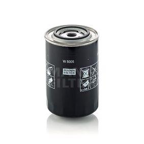 MANN-FILTER Filtro olio W 8005 acquisti con uno sconto del 34%