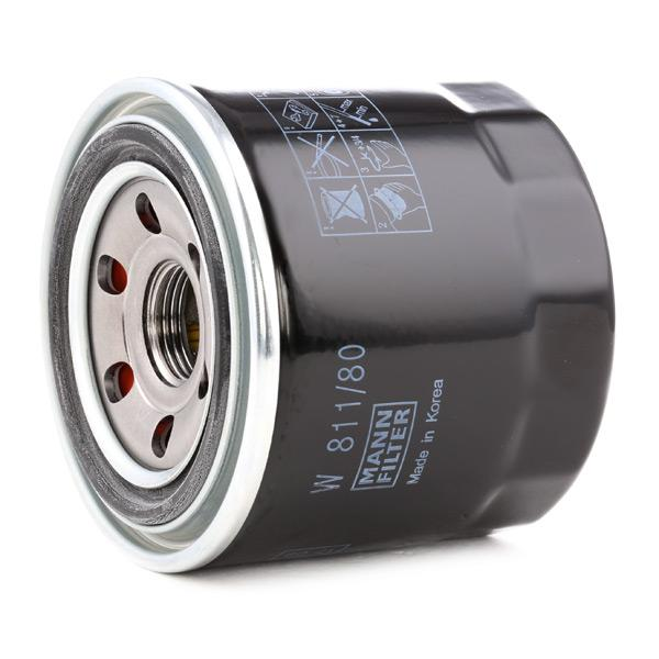 Olejový filter W 811/80 FORD nízke ceny - Nakupujte teraz!