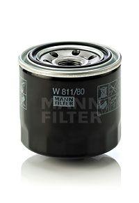 Маслен филтър W 811/80 от MANN-FILTER