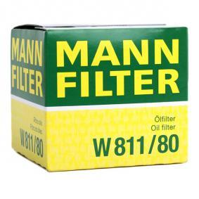 W811/80 Oil Filter MANN-FILTER - Experience and discount prices
