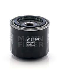 W 811/81 MANN-FILTER Anschraubfilter, mit einem Rücklaufsperrventil Innendurchmesser 2: 57mm, Innendurchmesser 2: 57mm, Ø: 82mm, Außendurchmesser 2: 65mm, Höhe: 74mm Ölfilter W 811/81 günstig kaufen