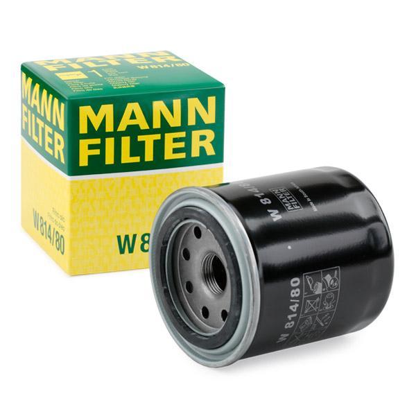 W81480 Motorölfilter MANN-FILTER W 814/80 - Große Auswahl - stark reduziert