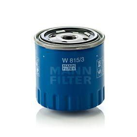 Filtre à huile W 815/3 RENAULT 14 à prix réduit — achetez maintenant!