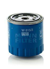 W 815/3 MANN-FILTER Anschraubfilter, mit einem Rücklaufsperrventil Innendurchmesser 2: 63mm, Innendurchmesser 2: 63mm, Ø: 86mm, Außendurchmesser 2: 72mm, Höhe: 88mm Ölfilter W 815/3 günstig kaufen