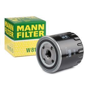 Oljni filter W 815/5 za RENAULT 30 po znižani ceni - kupi zdaj!